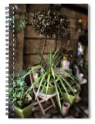 Hebden Court Shopping - Peak District - England Spiral Notebook