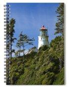 Heceta Head Lighthouse 1 B Spiral Notebook