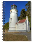 Heceta Head Lighthouse 1 C Spiral Notebook