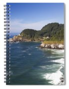 Heceta Head Lighthouse 2 A Spiral Notebook