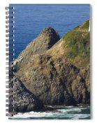 Heceta Head Lighthouse 2 F Spiral Notebook