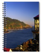 Heceta Head Moonrise Spiral Notebook