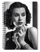 Hedy Lamarr - Beauty And Brains Spiral Notebook