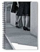 Heels And Lace Spiral Notebook