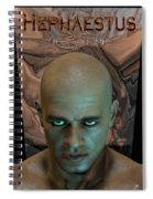 Hephaestus Vulcan Spiral Notebook