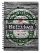 Heineken Spiral Notebook