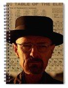 Heisenberg Spiral Notebook