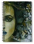Helena Bonham Carter Spiral Notebook