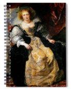 Helena Fourment Spiral Notebook