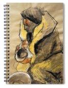 Helene #10 - Figure Series Spiral Notebook
