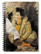 Helene #12 - Figure Series Spiral Notebook