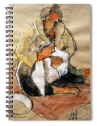 Helene #13 - Figure Series Spiral Notebook