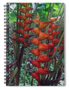 Heliconia Haven Spiral Notebook
