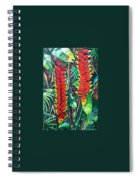 Heliconia Rostrata Spiral Notebook