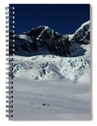 Helicopter New Zealand  Spiral Notebook