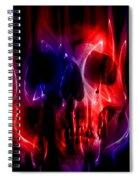 Hell Fire Spiral Notebook