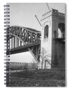 Hell Gate Bridge Spiral Notebook