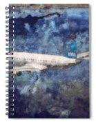 Hell Of A Flight Spiral Notebook