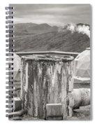 Hellisheidi Power Station Well Spiral Notebook