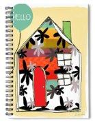 Hello Card Spiral Notebook