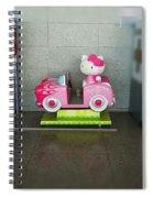 Hello Kitty Car Spiral Notebook