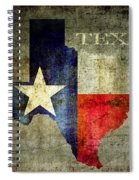 Hello Texas Spiral Notebook