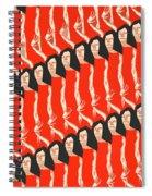 Hello Goodbye  Spiral Notebook