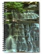 Hells Hollow Falls Spiral Notebook