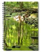 Hells Run Reflections Spiral Notebook