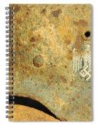 Steel Helmet Spiral Notebook
