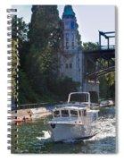 Helmsman 37 Yacht Spiral Notebook