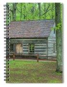 Helser Log House Spiral Notebook
