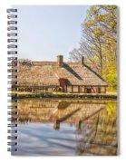 Helsingborg Cottage Millhouse Spiral Notebook