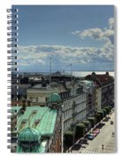 Helsingborg Hdr Pano Spiral Notebook