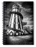 Helter Skelter Mono Spiral Notebook