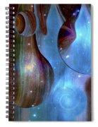Hemispheres Spiral Notebook