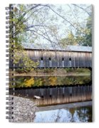 Hemlock Covered Bridge Spiral Notebook