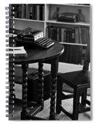 Hemmingway's Desk Spiral Notebook