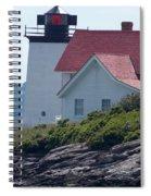 Hendricks Head Lighthouse Spiral Notebook