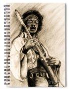 Hendrix-antique Tint Version Spiral Notebook