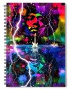 Hendrix Astro Man Spiral Notebook