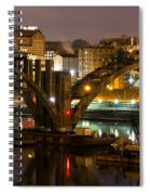 Henley Street Bridge Renovation II Spiral Notebook