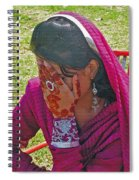 Henna Hands 2 Spiral Notebook
