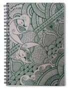 Henna Spiral Notebook