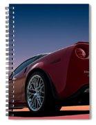 Hennessey Red Spiral Notebook