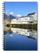 Henningsvaer Harbour Spiral Notebook