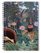 Henri Rousseau The Dream 1910 Spiral Notebook