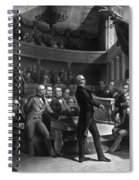 Henry Clay Speaking In The Senate Spiral Notebook