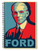 Henry Ford Spiral Notebook
