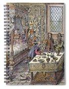 Henry II Of France, 1559 Spiral Notebook